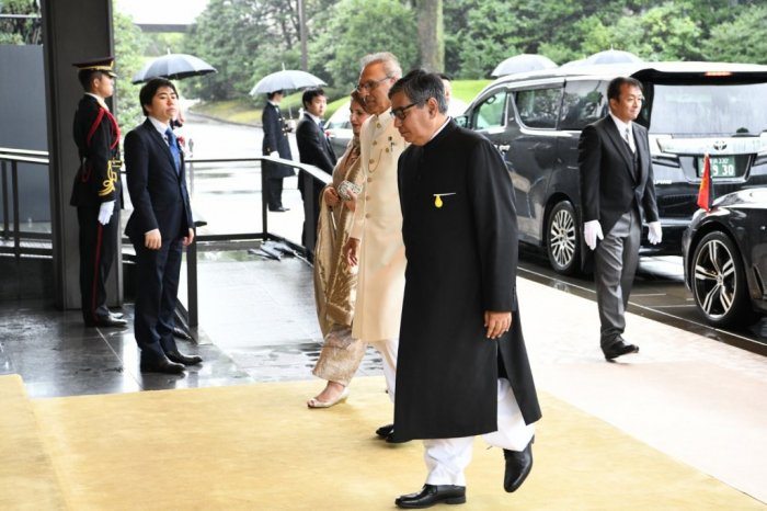 President of Pakistan Dr. ArifAlvi, attended the Enthronement Ceremony of the Emperor of Japan Naruhito (22.10.2019)