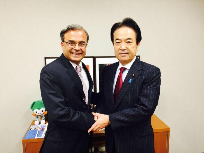Ambassador Khan called on Sen Kitamura Tsueno