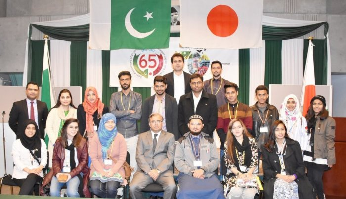 Ambassador Khan interacted with a smart and energetic group of Pakistani students visiting Japan under JENESYS 2017 being coordinated by JICE.